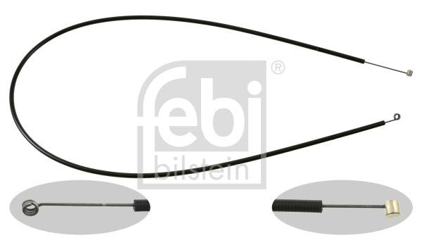 Cable d'ouverture capot (X1)