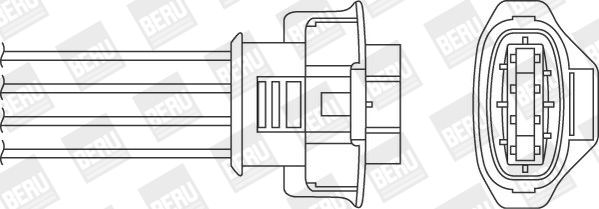 Sonde lambda BERU OPH074 (X1)