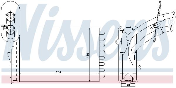 Radiateur de chauffage (X1)