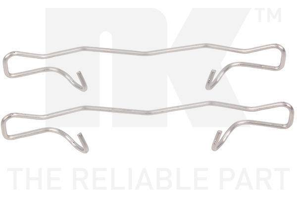 Kit de montage plaquettes de frein (X1)