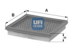 Filtre a air (X1)