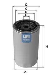 Filtre a huile de circuit hydraulique (X1)