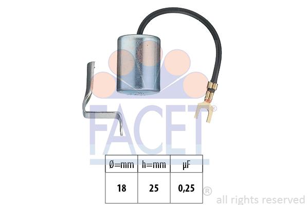 Condensateur d'allumage (X1)