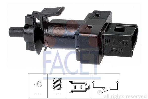 Commande, embrayage (régulateur de vitesse) (X1)