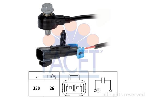 Capteur de cliquetis (X1)