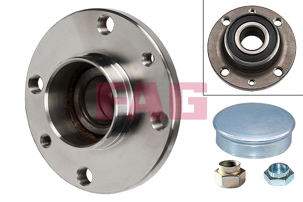 Roulement de roue FAG 713 6902 40 (X1)