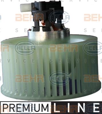 Chauffage et climatisation HELLA 8EW 351 043-481 (X1)