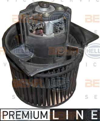 Ventilateur de chauffage (X1)