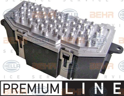 Servo moteur de ventilateur de chauffage (X1)