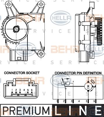 Actionneur de climatisation (X1)