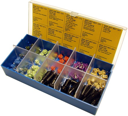 Coffret assortiment d'ampoules (X1)