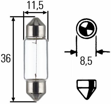 Ampoule, lampe de lecture (X1)