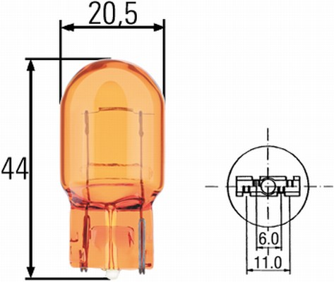 Ampoule, feu clignotant (X1)