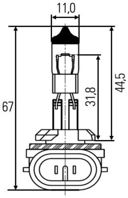 Ampoule, projecteur antibrouillard (X1)