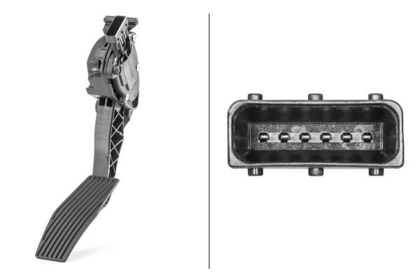 Capteur, position d'accélérateur (X1)