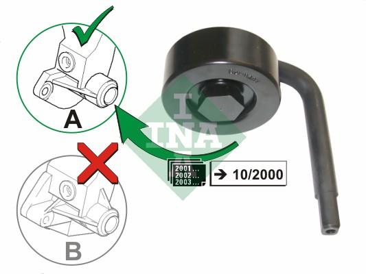 Galet tendeur accessoires (X1)
