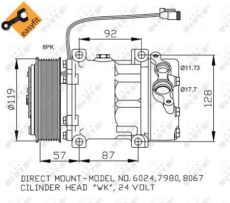 Compresseur NRF 32120 (X1)