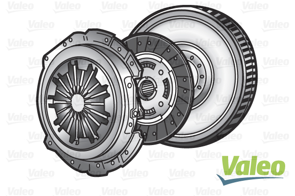 Kit d'embrayage + volant moteur (X1)