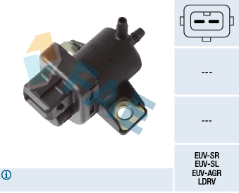 Soupape, système d'aspiration de l'air secondaire (X1)