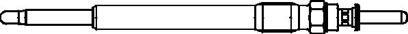 Bougie de prechauffage (X1)