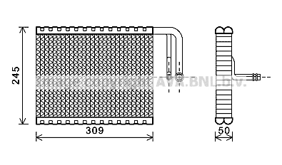 Evaporateur AVA QUALITY COOLING BWV402 (X1)