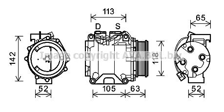 Compresseur (X1)