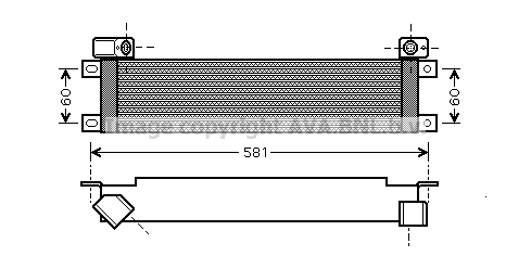 Radiateur huile (X1)