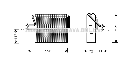 Evaporateur (X1)