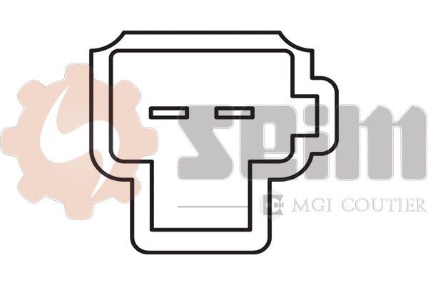 Commande, embrayage (régulateur de vitesse) SEIM CS165 (X1)