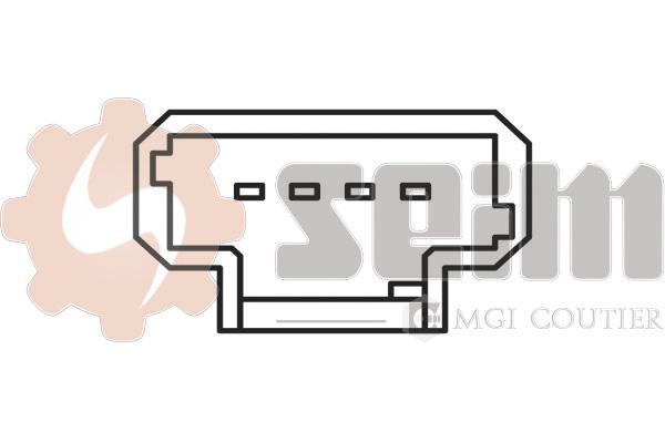 Contacteur de feu stop SEIM CS141 (X1)
