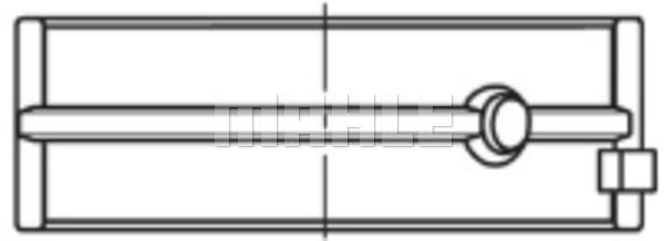 Coussinets de vilebrequin (X1)