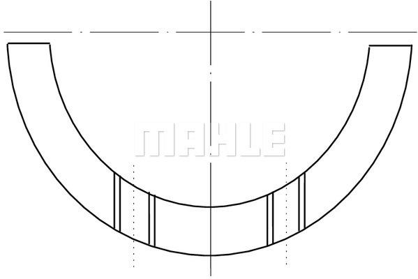 Cale de vilebrequin (X1)