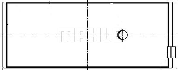 Coussinet de bielle (X1)