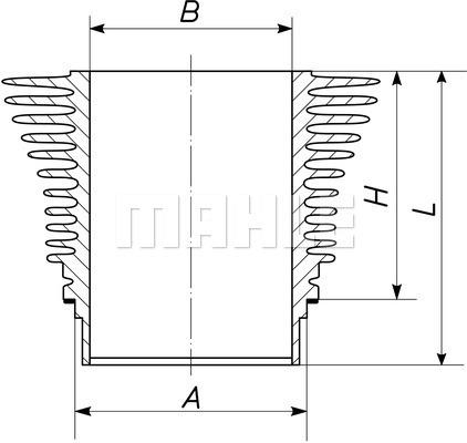 Chemise de cylindre (X1)
