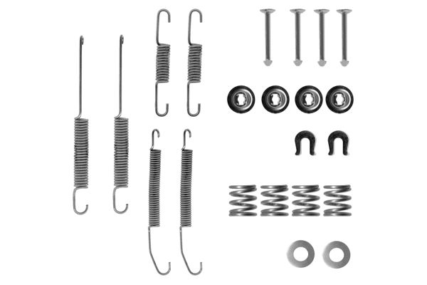 Kit de montage machoires de frein (X1)