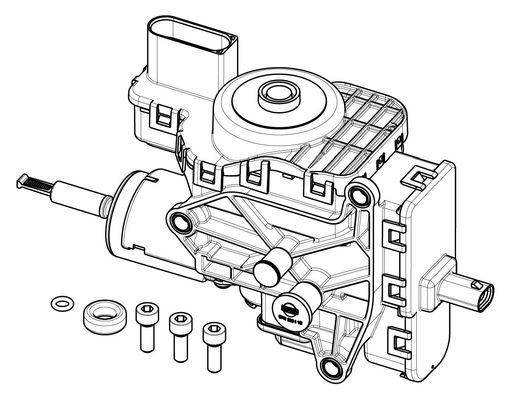 Module d'alimentation, Injection d'urée (X1)