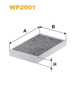 Filtre d'habitacle (X1)