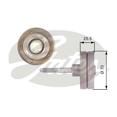 Galet enrouleur accessoires (X1)