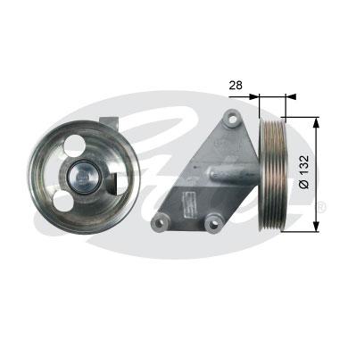 Galet enrouleur accessoires GATES T36428 (X1)