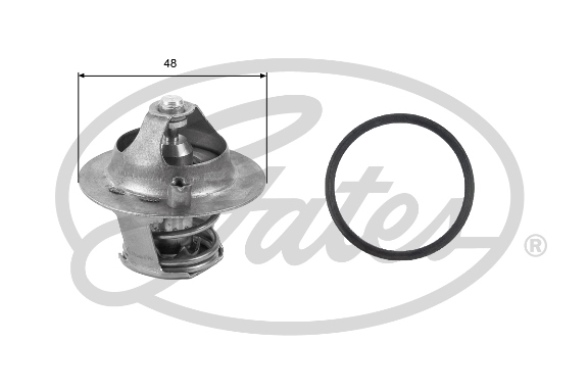 Thermostat/calorstat (X1)