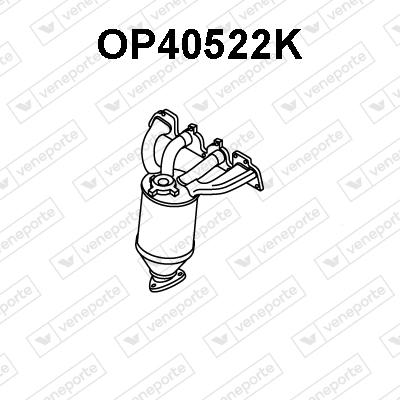 Catalyseur VENEPORTE OP40522K (X1)