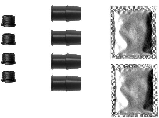 Kit d'accessoires d'étrier de frein (X1)