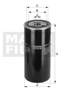Filtre a huile de boite de vitesse (X1)
