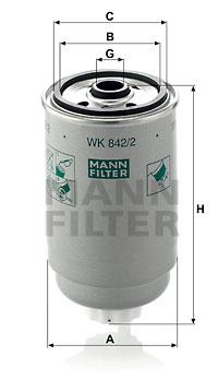 Filtre a carburant (X1)