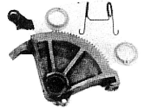 Autres pieces d'embrayage (X1)