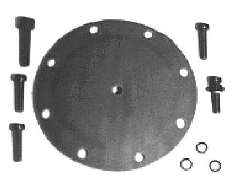 Diaphragme de pompe à vide (X1)