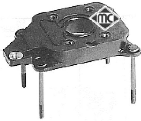 Flasque, carburateur (X1)
