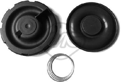 Diaphragme, ventilation du carter moteur (X1)