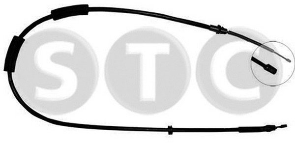 Cable de frein à main (X1)