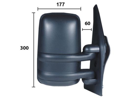 Retroviseur exterieur complet (X1)